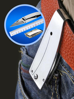 2-in-1 Foldable Knife
